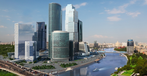 Видовые апартаменты 77,2 кв. м в Москва-Сити, в башне NEVA TOWERS